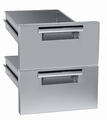 Electrolux 2DRW900E 2 DRAWERS (H=100MM) BASE 900 LINE-ELUX (Code 206334), Alias 8PDX206334