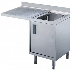 Electrolux MARMSX CUPB.SINK FOR DW 1 BOWL+L/H DRAINER 1200 (Code 132716), Alias 9PEX132716