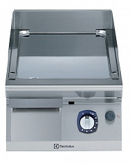 Electrolux E7FTGDCS00 GAS FRY TOP-SMOOTH CHROME PLATE 400 MM (Code 371037), Alias 9PDX371037